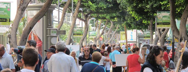 Mesa y Lopez winkelcentrum Las Palmas Gran Canaria